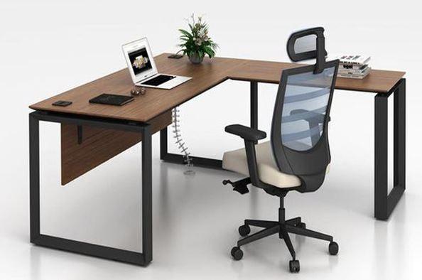 bàn văn phòng chân sắt