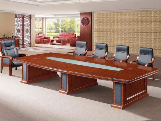 Bàn họp văn phòng bằng gỗ ROF